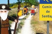 Los Playmobil peregrino hacen 'El Camino'