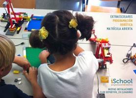iSchool, robótica y programación para niños en Logroño