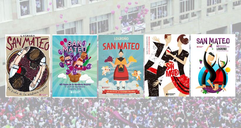 Vota por tu cartel favorito para las fiestas de San Mateo 2016