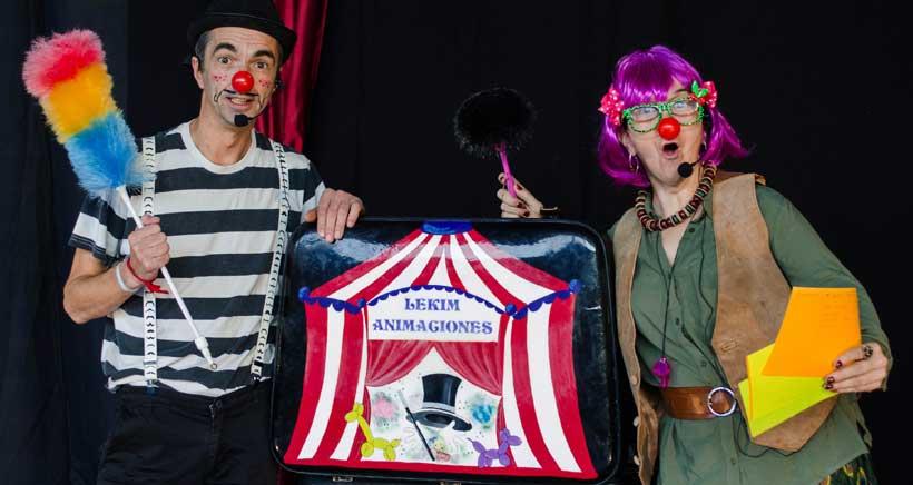 Espectáculo de clown para niños en las fiestas de Yécora