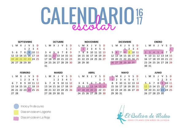 Calendario-Escolar-de-La-Rioja-y-Logrono-2016-17