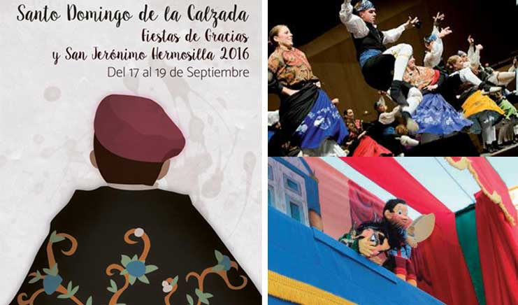 Fiestas de Gracias y Hermosilla en Santo Domingo de la Calzada