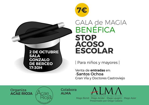 Gala-de-magia-contra-el-acoso-escolar-ACAE-Rioja