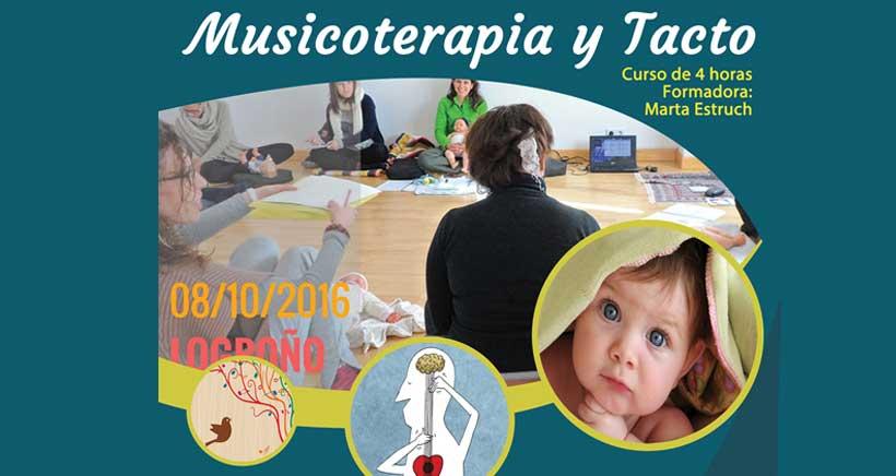 Curso de musicoterapia y tacto en Logroño (para educadores)