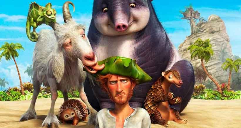 Estrenos de cine infantil: Robinson, una aventura tropical