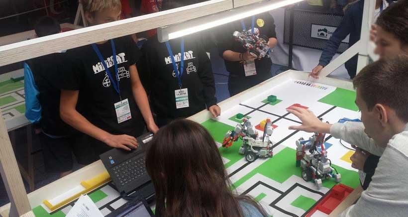 Logroño acoge este sábado la final de la Olimpiada de Robótica de España 2016