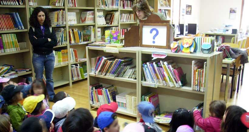 Laboratorio de Lectura en la Biblioteca de Navarrete