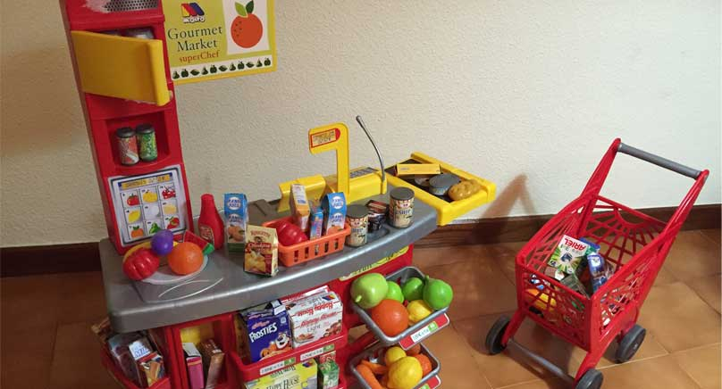 Supermercado de juguete de segunda mano en Logroño
