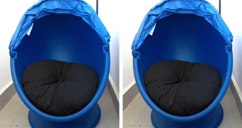 Se vende: sillón infantil giratorio LOMSK de Ikea de segunda mano