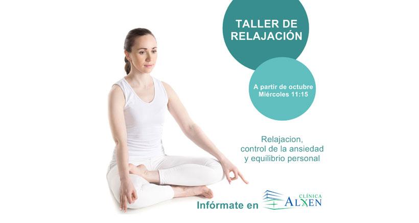 Talleres de relajación (para adultos) en Clínica Alxen