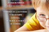 La Casa de Tomasa imparte un club de lectura para preadolescentes