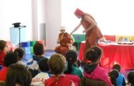 Cuentacuentos teatralizado en la Biblioteca Rafael Azcona