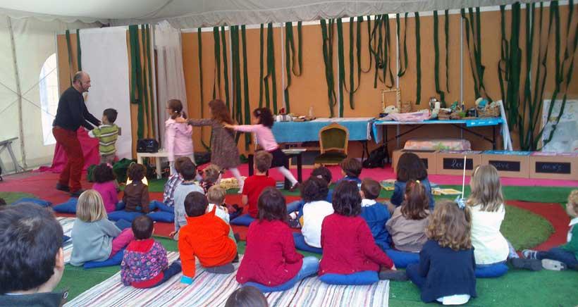 Actividades para niños y bebés en la Feria del Libro de Logroño