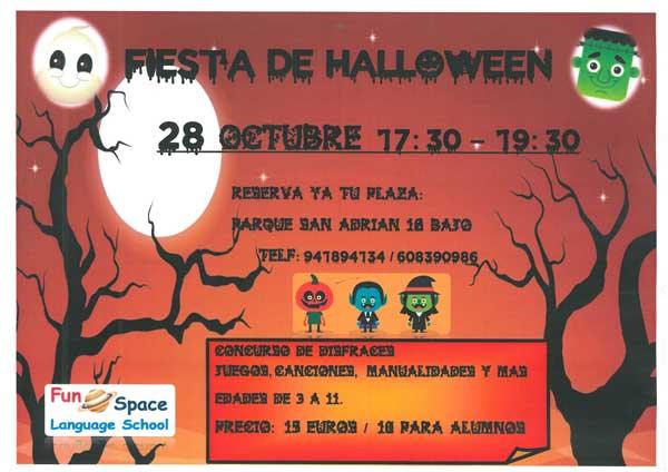 Fiesta-de-Halloween-en-ingles-en-Fun-Space