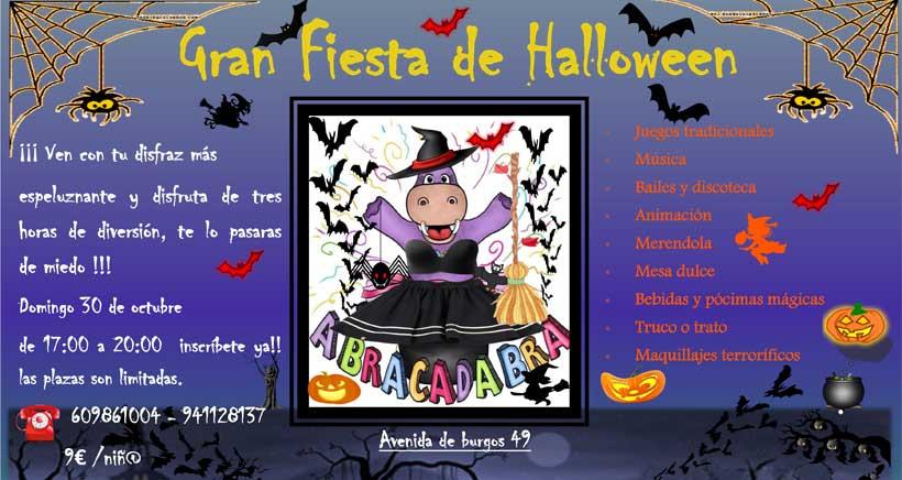 Fiesta-de-Halloween-para-ninos-en-Abracadabra-Logrono-