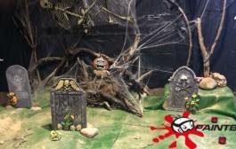 El chiquipark del miedo en la fiesta Halloween de Paintball Ocio Rioja