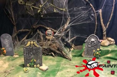 Fiesta de Halloween en Paintball Ocio Rioja