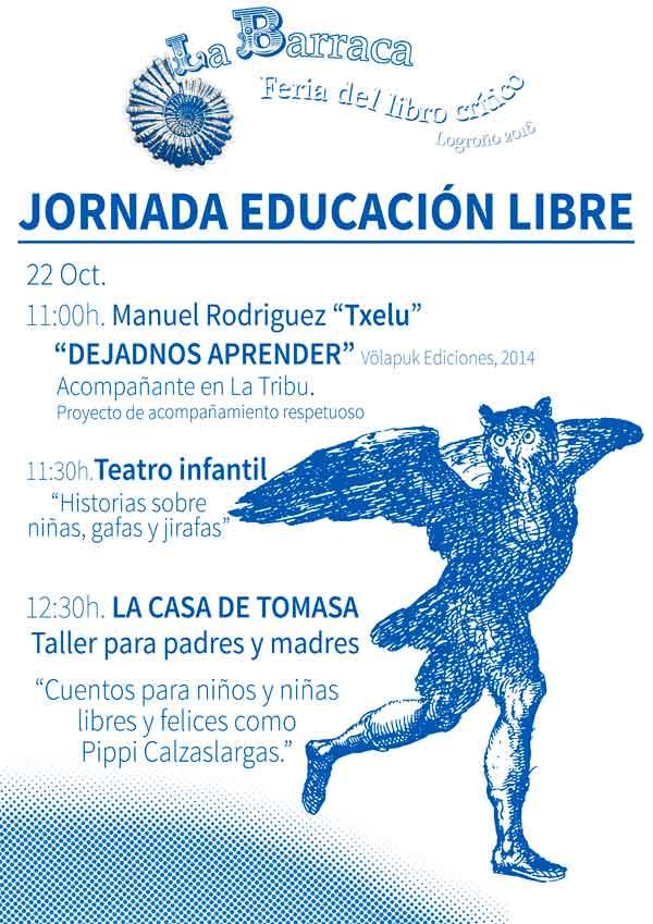 Jornada-educacion-libre-La-Barraca-Feria-del-Libro-Critico