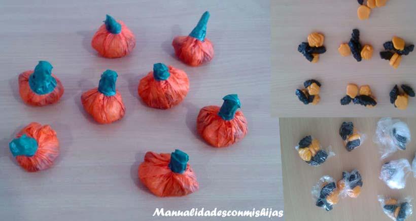 Manualidades Halloween Ninos.Calabazas De Papel Manualidad De Halloween Facil Con Ninos 4 Anos