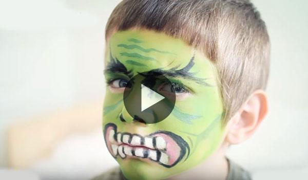 Maquillaje-Halloween-Hulk