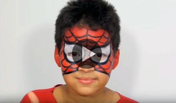 Maquillaje-Halloween-Spiderman