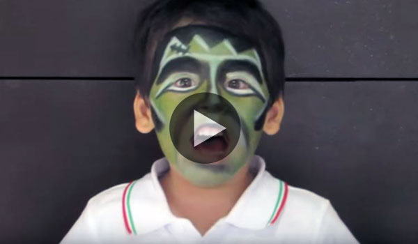 Maquillaje-Halloween-nino-Frankestein