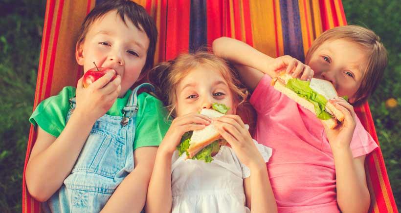 ¿Meriendan esto tus hijos? 7 ejemplos de meriendas saludables
