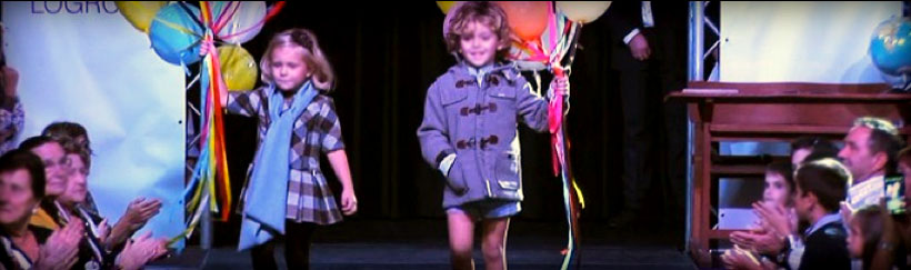 La moda infantil de Logroño luce en la pasarela
