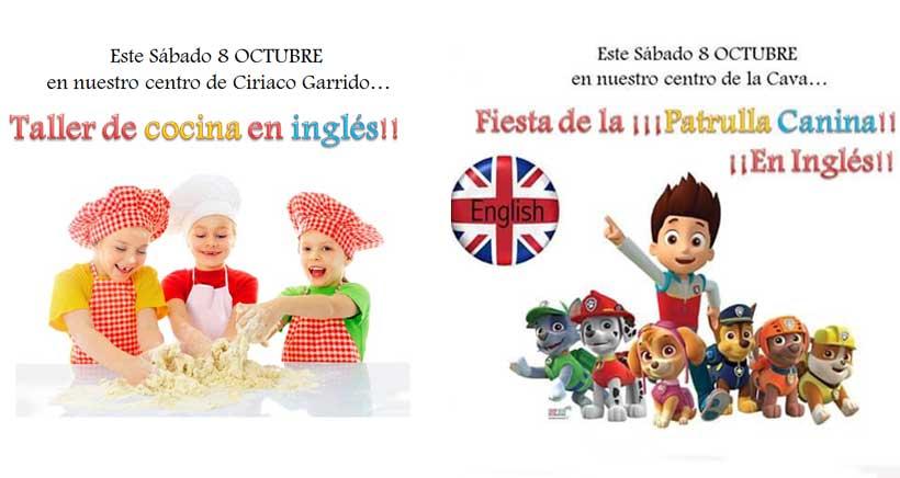 Actividades en inglés para niños desde 2 años