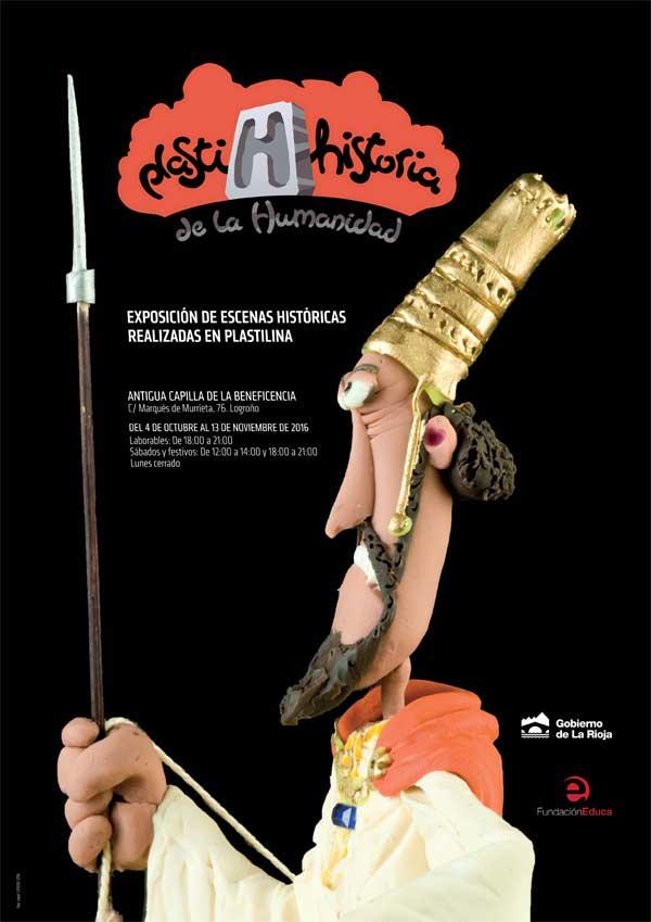 cartel-Plastihistoria-de-la-humanidad-en-Logrono