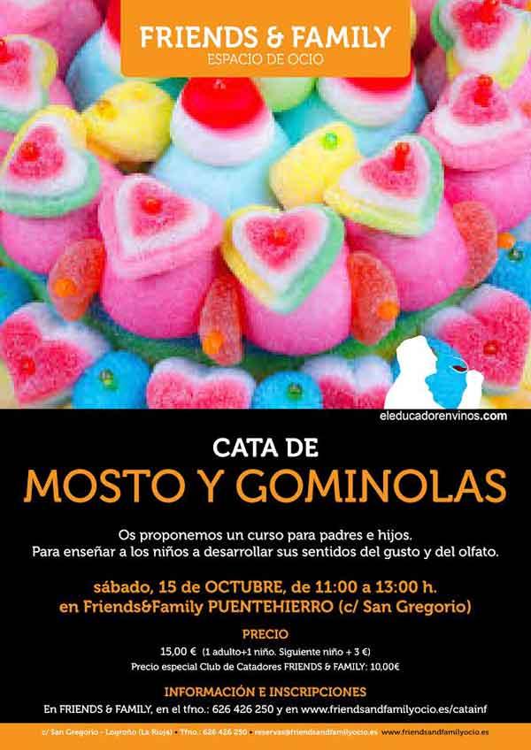 cata-de-mosto-y-gominolas-en-Friends-family