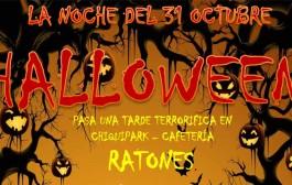 Fiesta de Halloween en Villamediana (chiquipark Ratones)