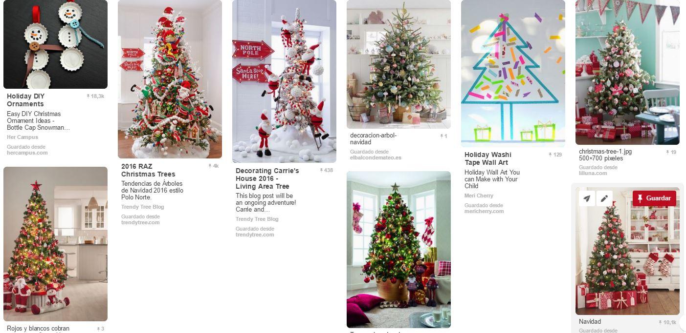 Arboles de Navidad para casas con ninos