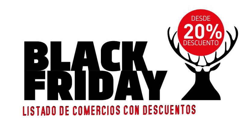 Black Friday 2016 en Logroño. Listado de comercios con descuento
