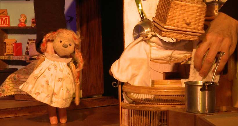 Teatro de títeres para niños en el Museo Würth
