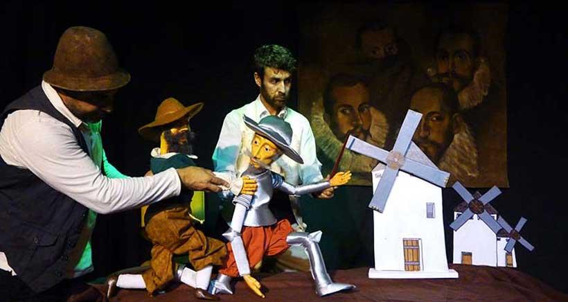 Teatro de títeres: 'Las Aventuras de Sancho y Quijote'