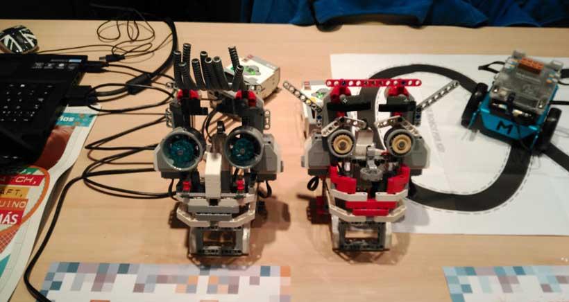 Ludoteca de robótica, programación y tecnología con iSchool