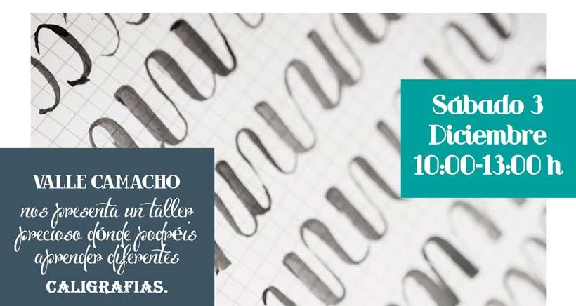 Talleres en Didac: este sábado, caligrafía con Valle Camacho