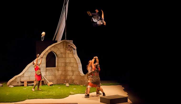 El Premio Nacional de Circo 2016 despide el Festival Teatrea Otoño