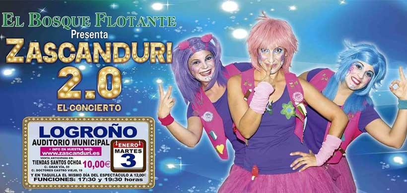 Nuevo espectáculo de las Zascanduri en Logroño