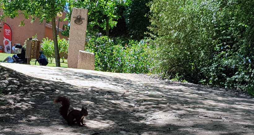 El Parque de La Grajera, solo abierto para deportistas