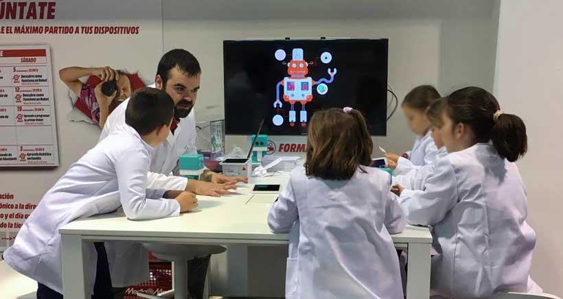 Esta semana, talleres de robótica para niños en Media Markt