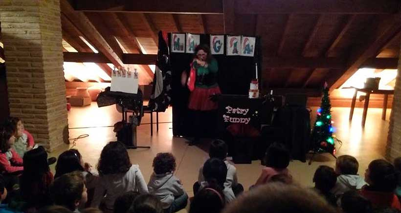 Espectáculo infantil de magia en Cenicero