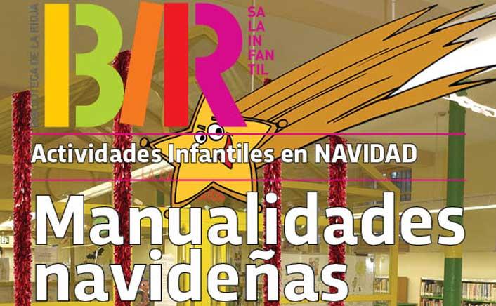 Manualidades para niños en Navidad en la Biblioteca de La Rioja