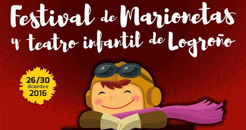 34º Festival de Marionetas y Teatro Infantil de Logroño (Programación)