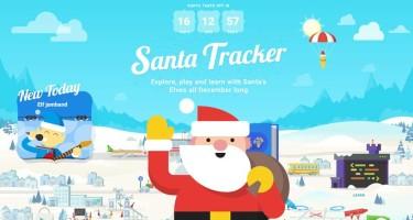 Google-Santa-Tracker