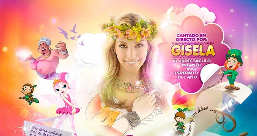 Nuevo musical para niños en Logroño: Gisela y el libro mágico