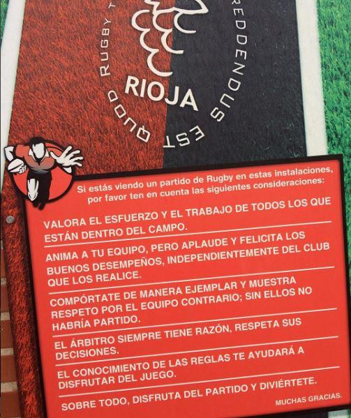 Normas de rugby club rioja