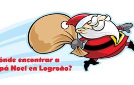 Encuentra a Papá Noel en Logroño