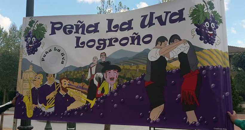 La Peña La Uva festeja la Virgen de la Esperanza con actividades para niños